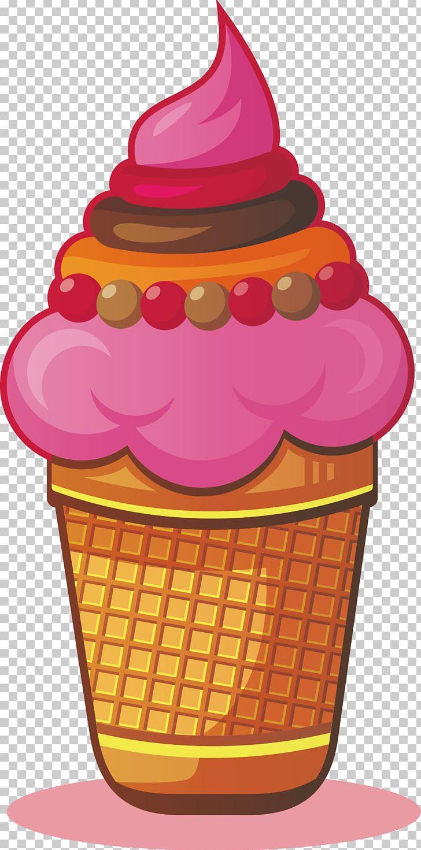 Ice Cream Cone Sundae Chocolate Ice Cream PNG, Clipart.
