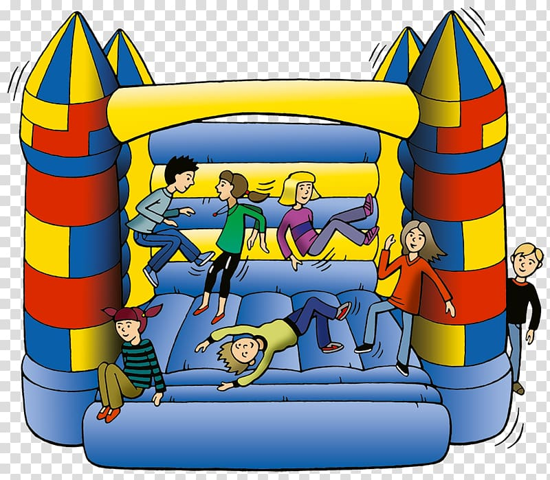 Inflatable Bouncers Playground slide Water slide , cartoon.