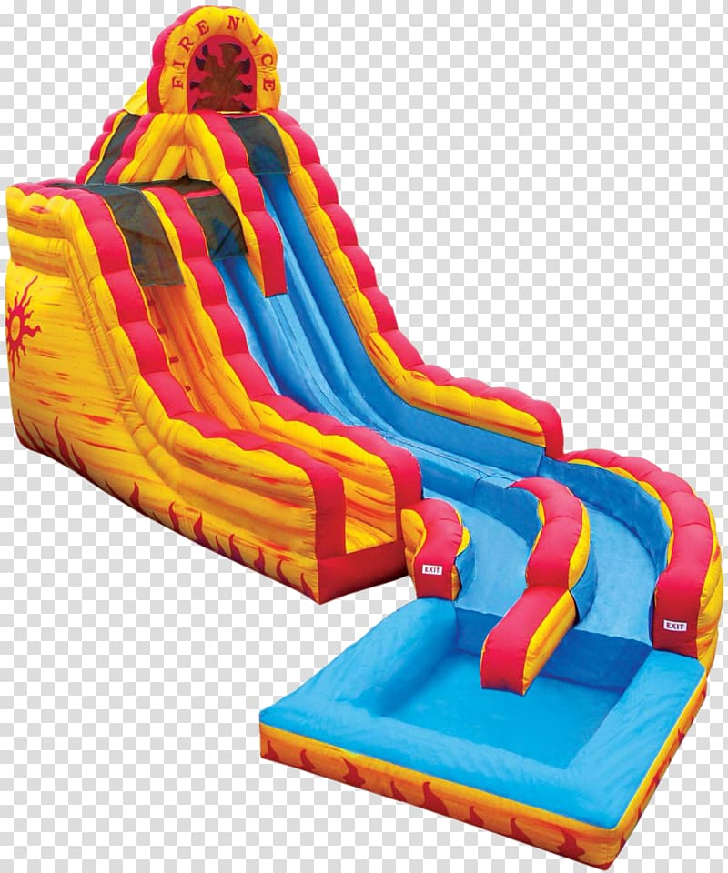 Water slide Inflatable Playground slide Water park, water.