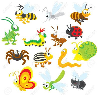 cute animated bugs pictures.