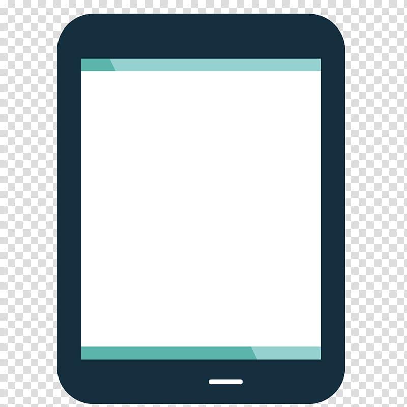 Brand Gadget Pattern, Cartoon iPad transparent background.