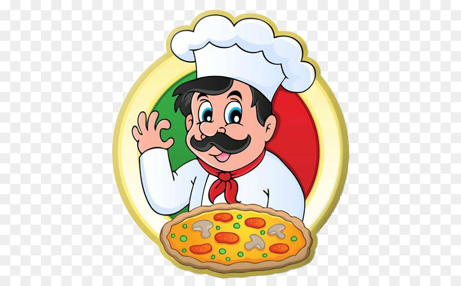Pizza Chef clipart.