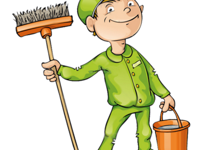 Janitor clipart animated, Janitor animated Transparent FREE.