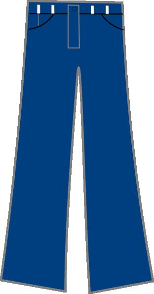 Blue Jeans Clip Art at Clker.com.