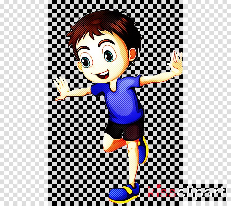 cartoon clip art throwing a ball animated cartoon jumping.