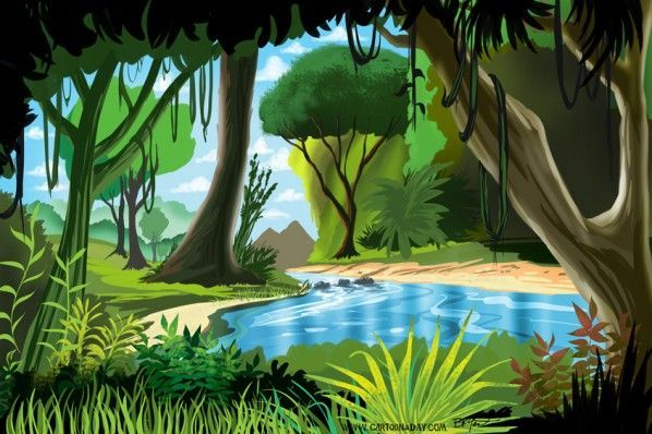 Image result for jungle background for kids in 2019.