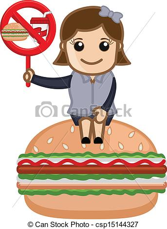 Animated Junk Food Clipart.