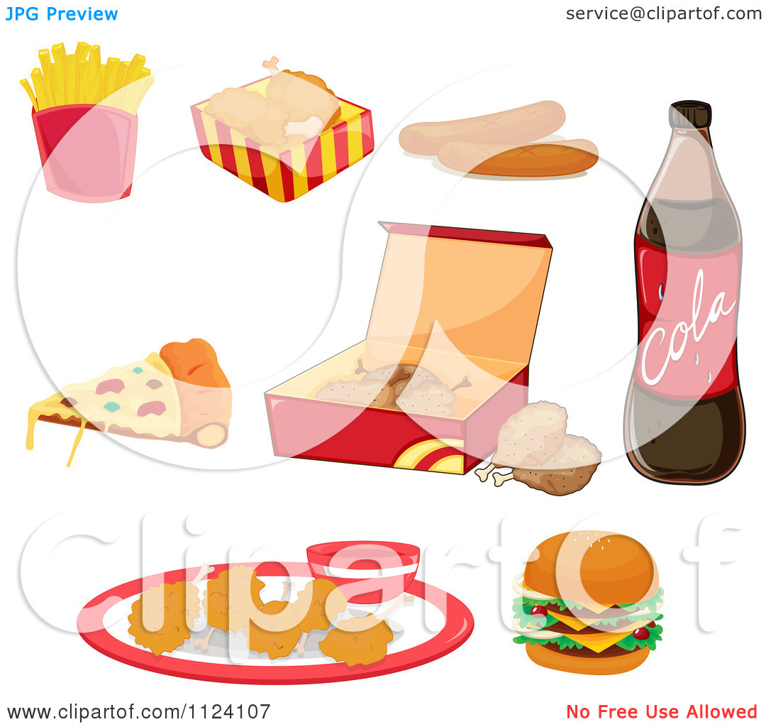 Animated Junk Food Clipart Clipground