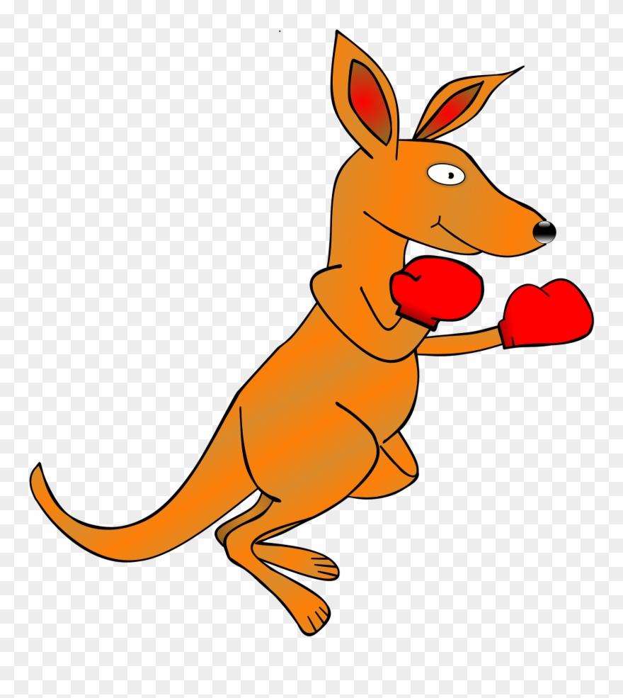 Free Illustration Kangaroo Clip Art Ing Gloves Image.