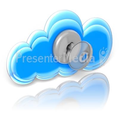 Cloud Lock and Key.