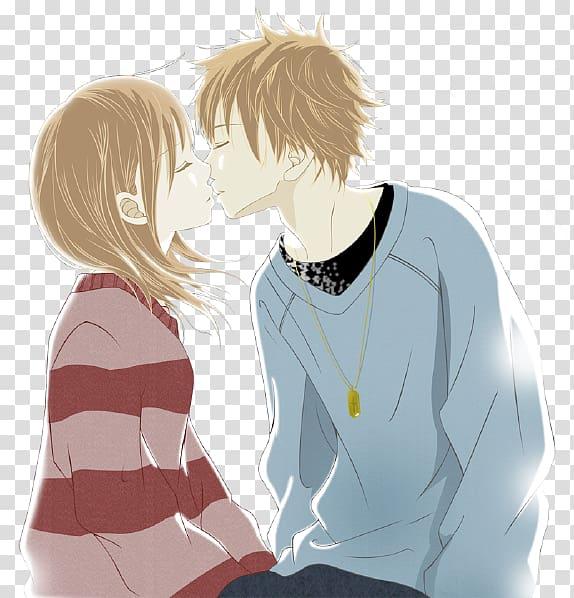 Desktop Kiss Animated film Love, kiss transparent background.