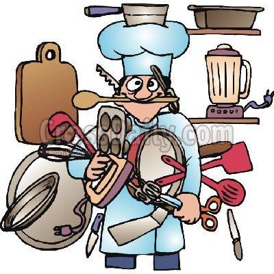 Kitchen Utensils Clipart Free.