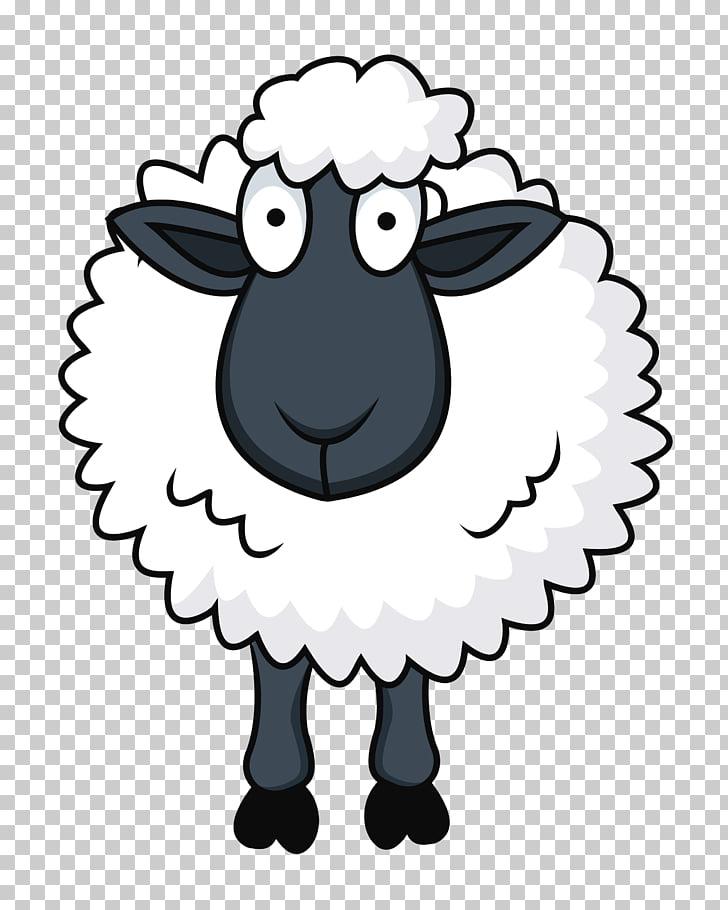 Sheep Cartoon , sheep, Shawn the Sheep PNG clipart.