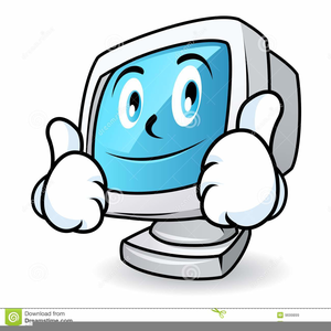 Animated Laptop Clipart.