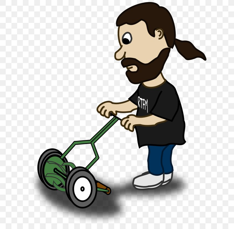 Lawn Mower Cartoon Clip Art, PNG, 629x800px, Lawn Mower.