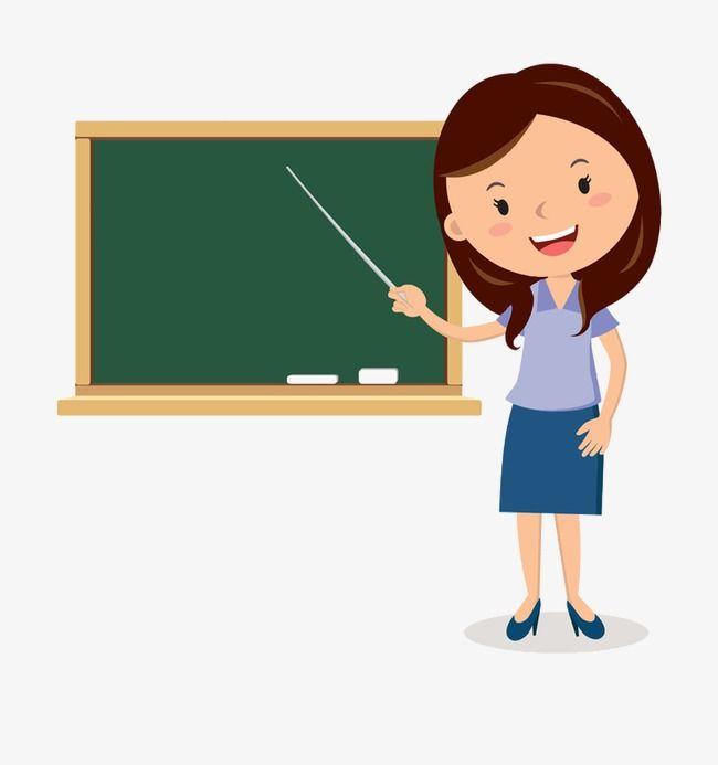 Blackboard Cartoon Teachers, Cartoon Clipart, Cartoon.