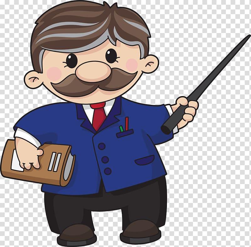 Animated teacher illustration, Teacher , Cartoon teacher.