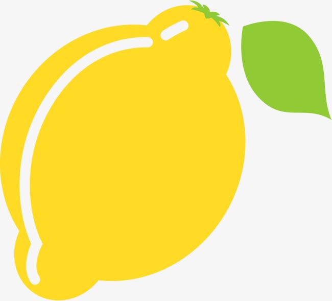Yellow cartoon lemon clipart jpg.