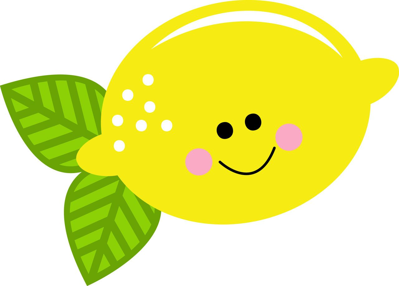 Lemon Clipart Cute.