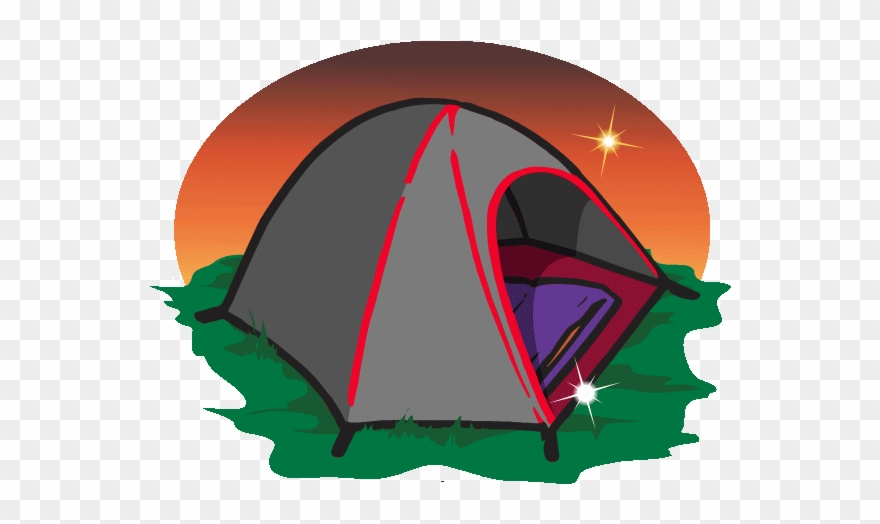 Tent Transparent Animated Vector Freeuse Library.