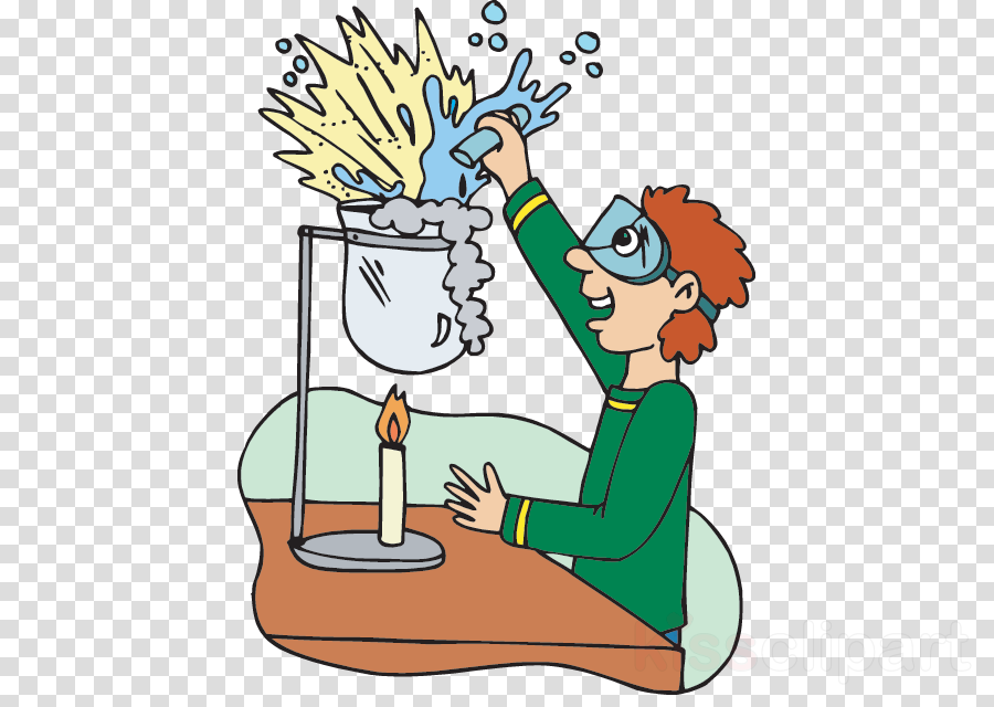 Scientist Cartoon clipart.