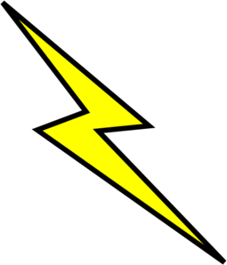 Lightning Bolt Clip Art at Clker.com.