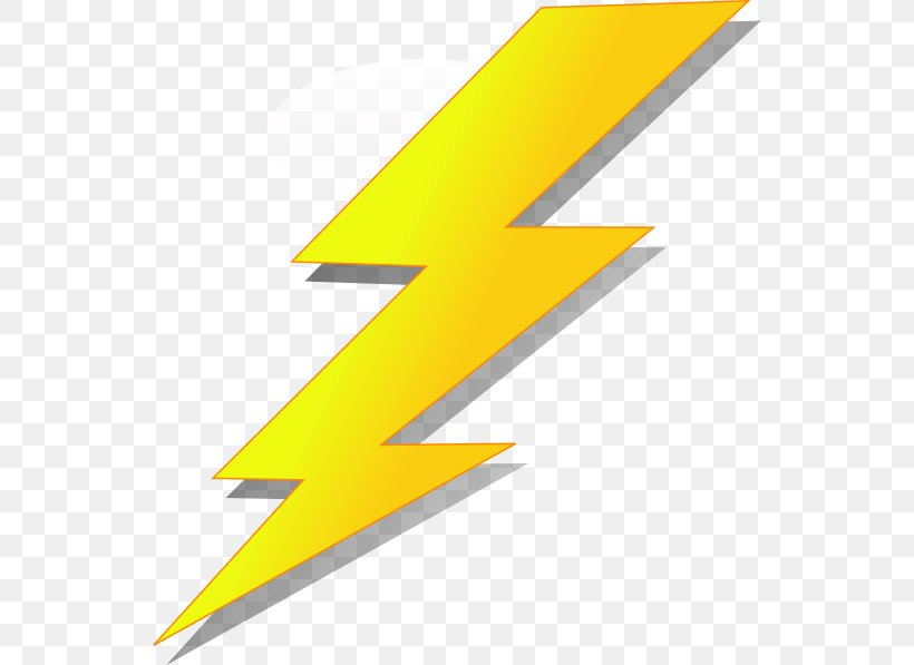 Lightning Strike Cartoon Clip Art, PNG, 546x597px, Lightning.