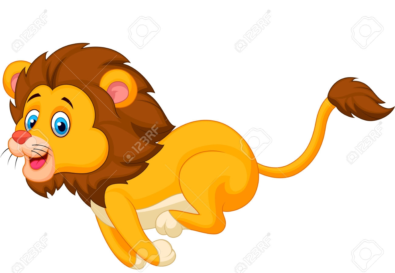 1329 Lions free clipart.