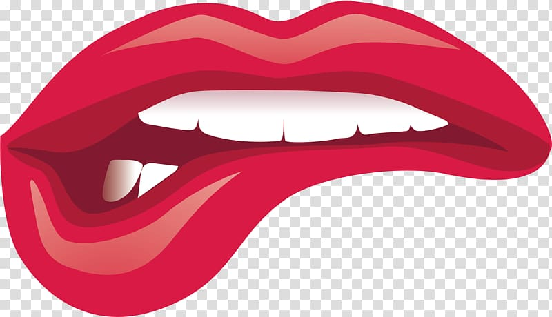 Lips illustration, Lip Kiss Cartoon, Pretty cartoon lips.