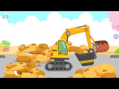 Car and Truck build and play (Excavator).