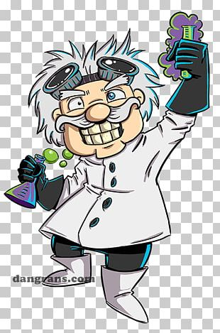 Beaker Mad Scientist PNG, Clipart, Artwork, Beaker, Cartoon.