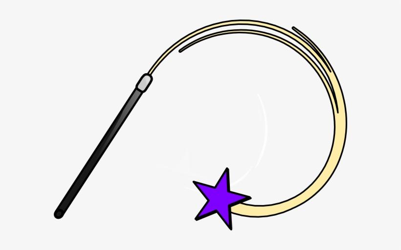 Magic Wand Purple Clip Art.