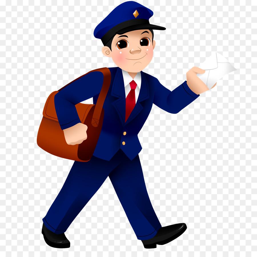 Postman Standing.