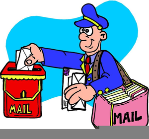 Mailman Animated Clipart.