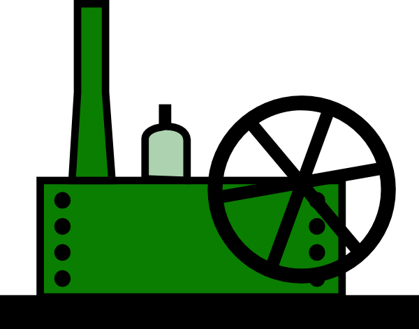 Animated manufacturing clipart.