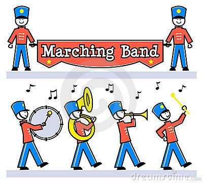 Cartoon Kids Marching Band/eps.