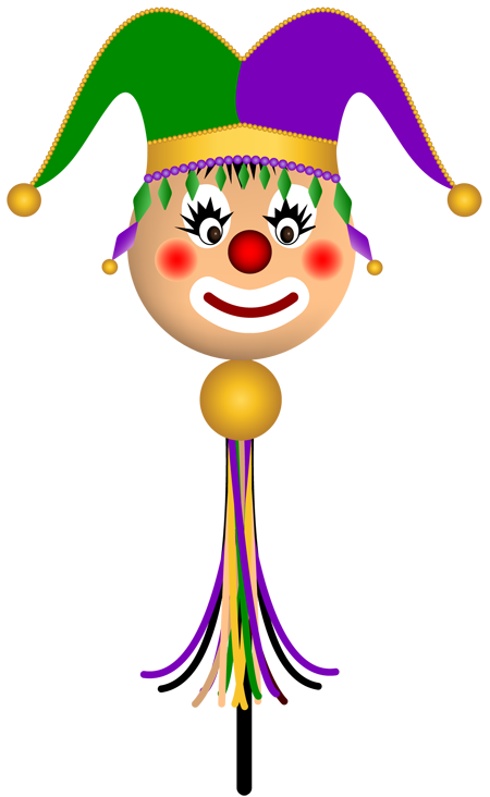 Grab This Free Clipart and Celebrate Mardi Gras: A Mardi.