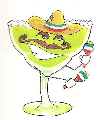 Margarita Clip Art #37094.