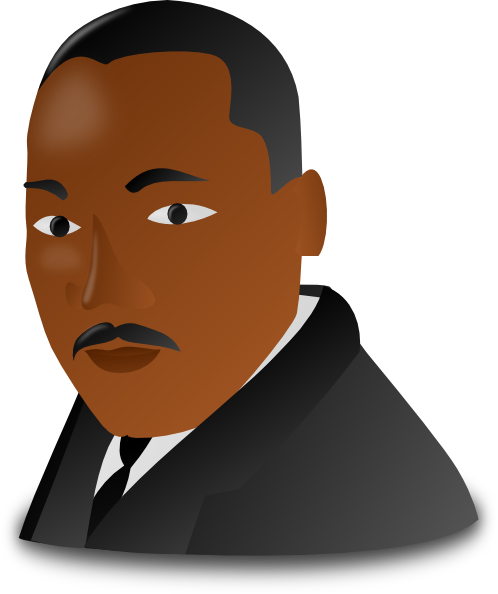 Animated Martin Luther King Clipart.