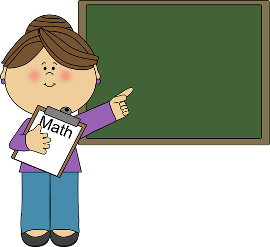 Math Teacher Clip Art N5 free image.