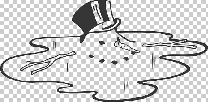 Snowman Melting PNG, Clipart, Area, Artwork, Black, Black.