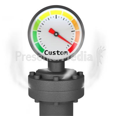 Custom Pressure Gauge.