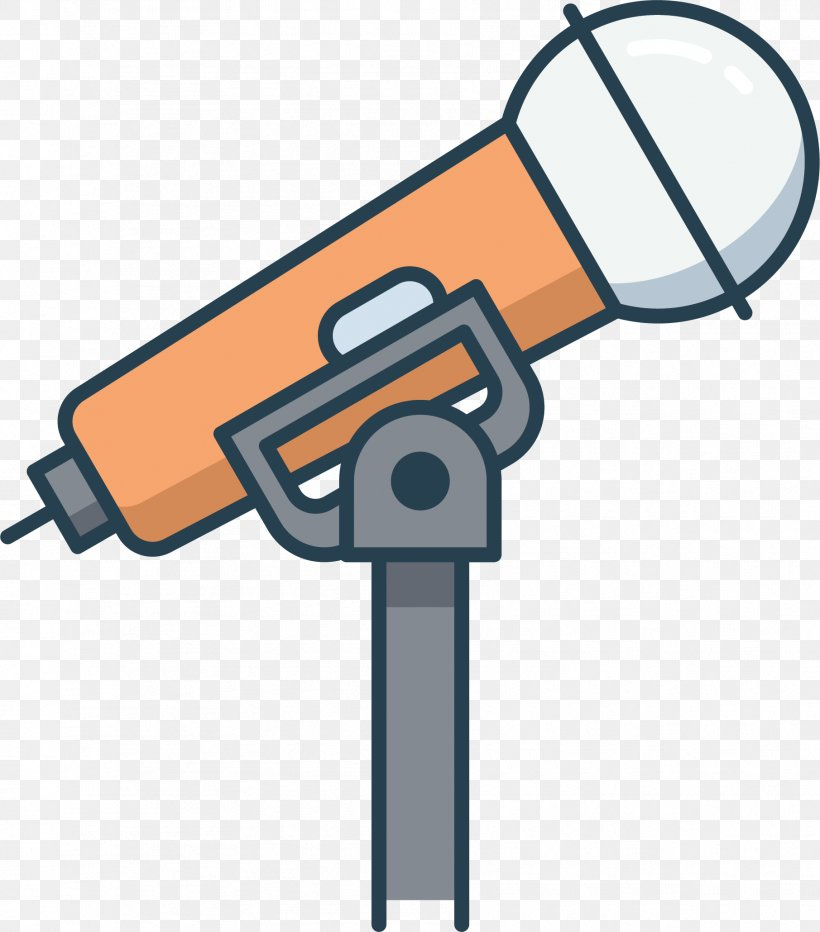 Microphone Cartoon Animation Icon, PNG, 1811x2060px.