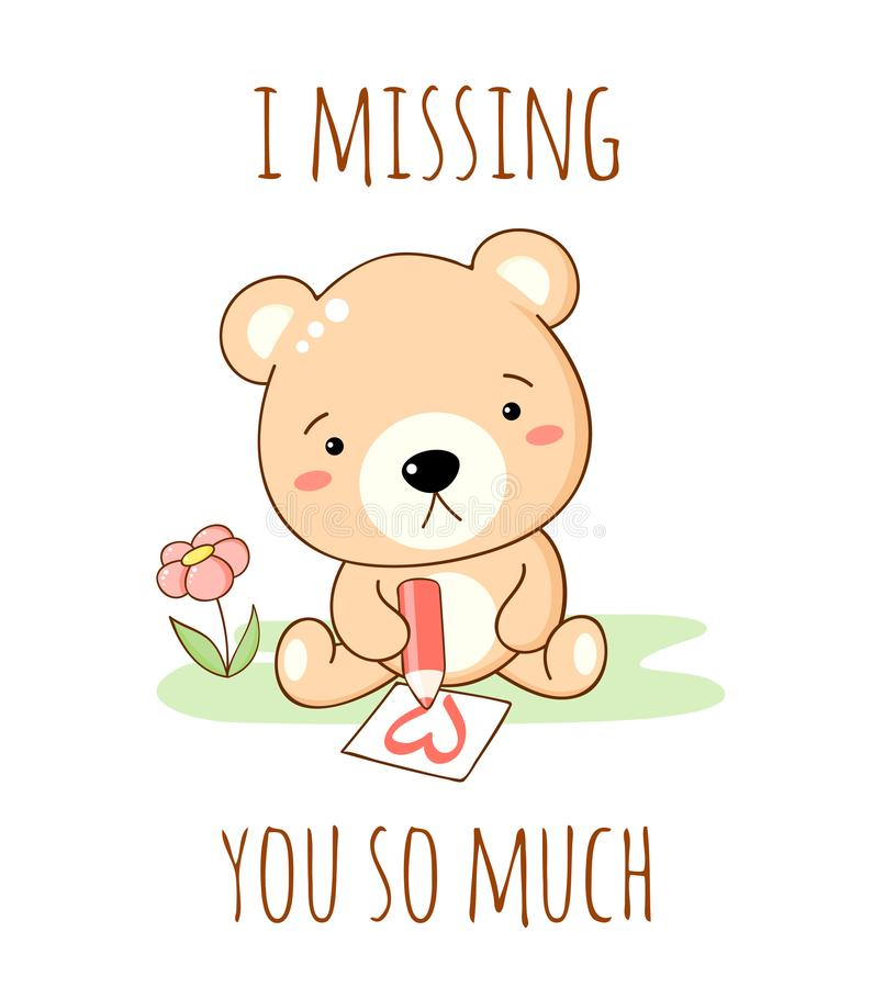 Missing You Stock Illustrations.