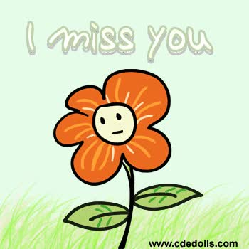 Bce Miss You Missing You Animated Clipart GIF.