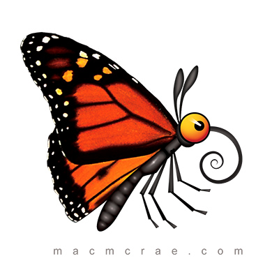 Free Cartoon Monarch Butterfly, Download Free Clip Art, Free.