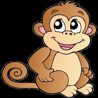 free monkey clip art images.