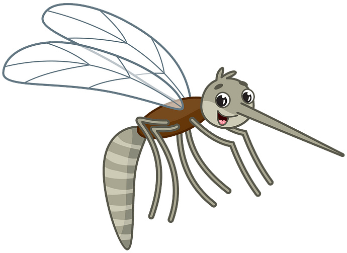 Mosquito clipart. Free download..