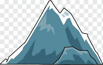 Cartoon Mountains cutout PNG & clipart images.