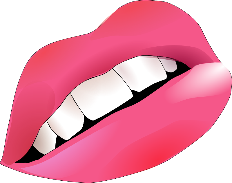 Clipart of Mouths and Lips.